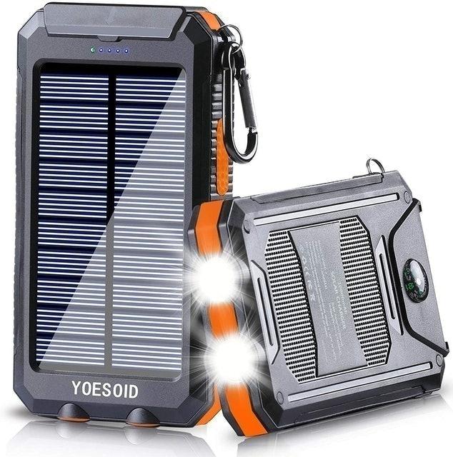 Portable Phone Chargers YOESOID Portable Solar Power Bank 20000 mAh 1