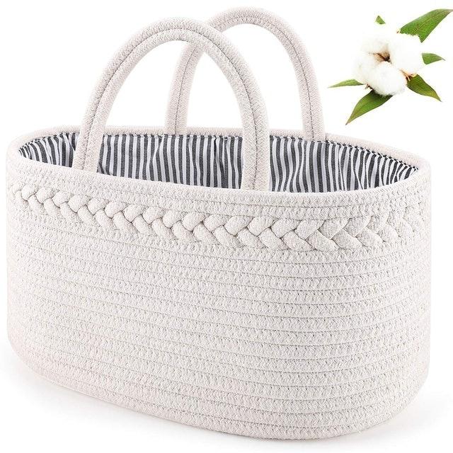 ABenkle Diaper Caddy Basket 1