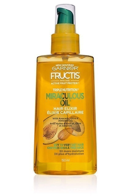 Garnier Triple Nutrition Miraculous Oil Hair Elixir 1