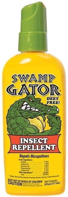 Swamp Gator Natural Insect Repellent 1