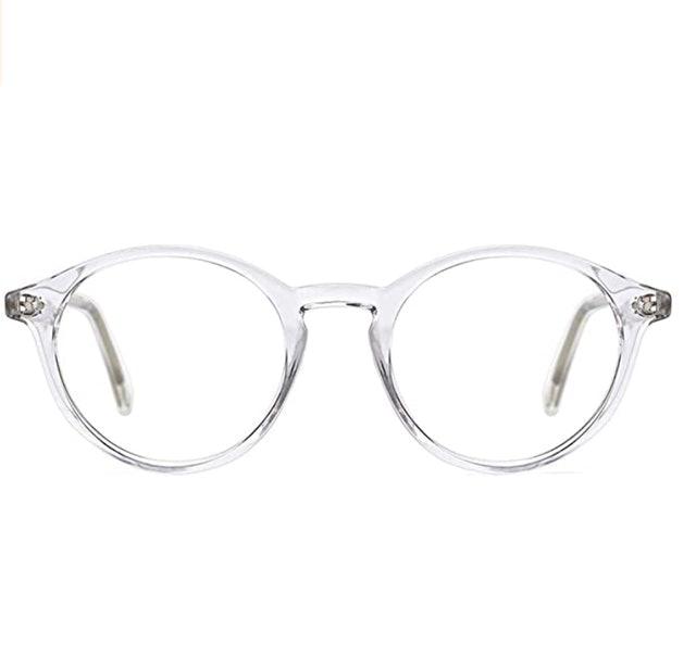 TIJN Round Rim Frame Blue Light Blocking Glasses 1