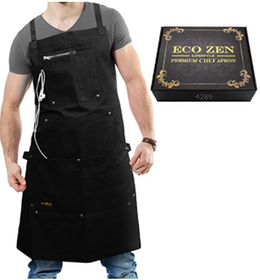 Top 10 Best Cooking Aprons for Men in 2021 (Hudson Durable Goods and More) 3