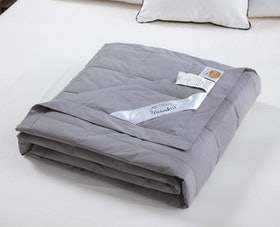 Top 10 Best Down Blankets in 2020 (Madison Park, LinenSpa, and More) 1