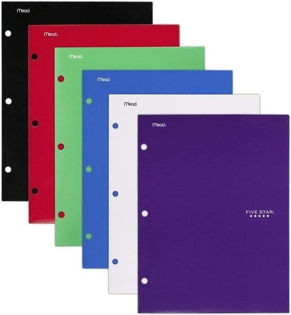 Five Star Pocket Folders 1