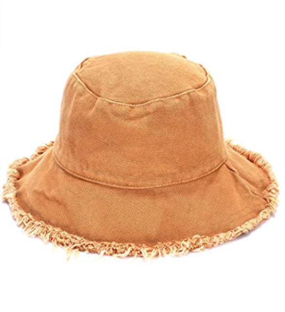 Boderier Cotton Bucket Hat 1