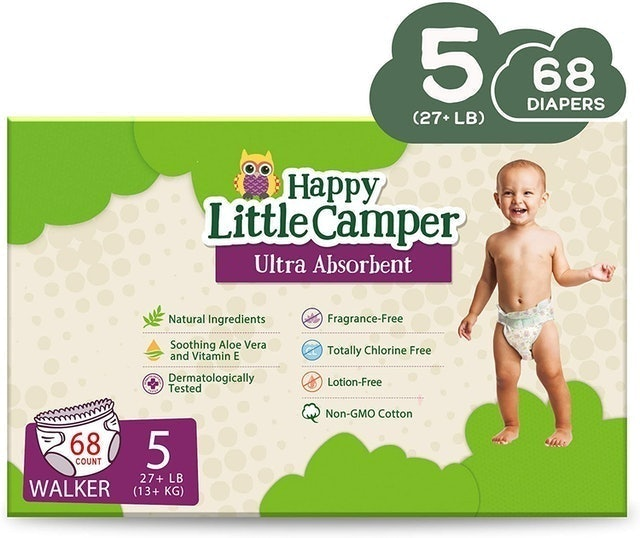 Happy Little Camper Natural Diapers 1