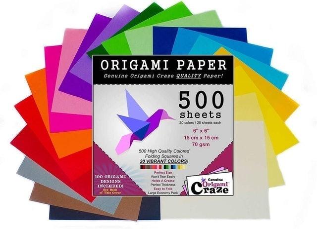 Origami Craze Origami Paper 500 Sheets 1
