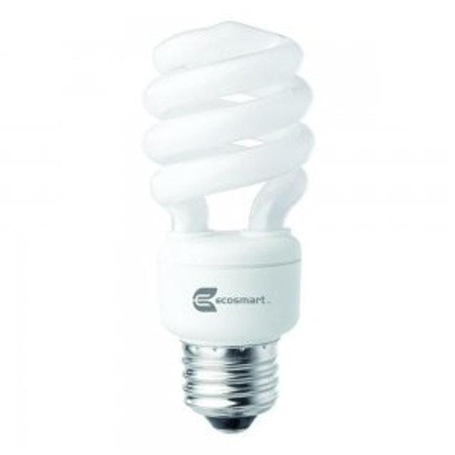 EcoSmart  Spiral CFL Light Bulb 1