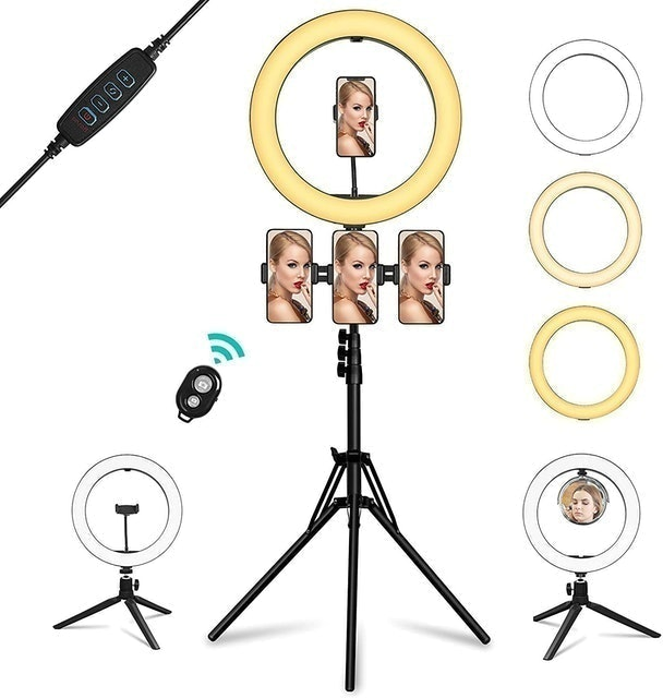 Summifit Ring Light With Mirror 1