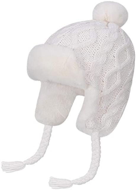 Omechy Knit Peruvian Beanie Hat 1