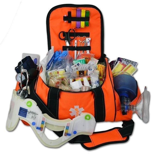 Lightning X Deluxe Stocked Large EMT First Aid Trauma Bag  1