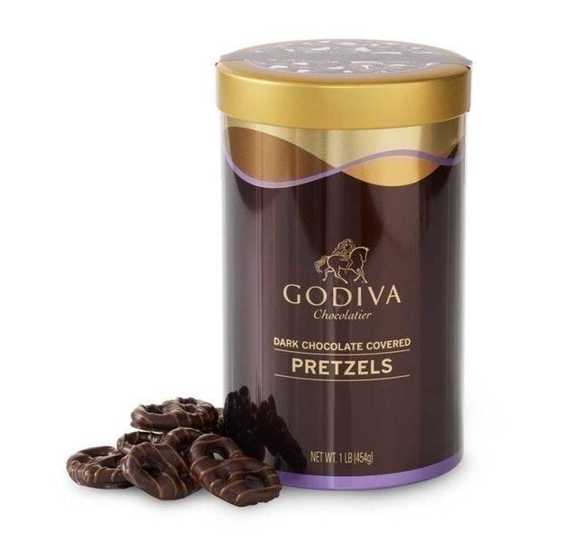 Godiva Dark Chocolate Covered Pretzels 1