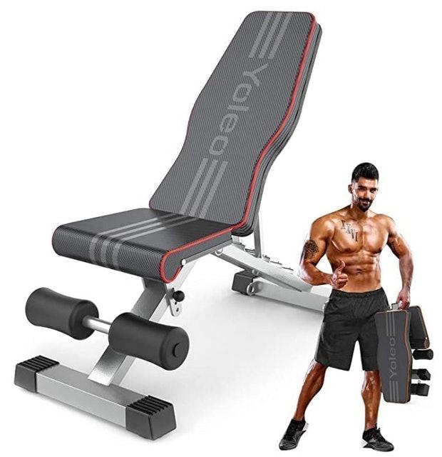 Yoleo Foldable Weight Bench 1