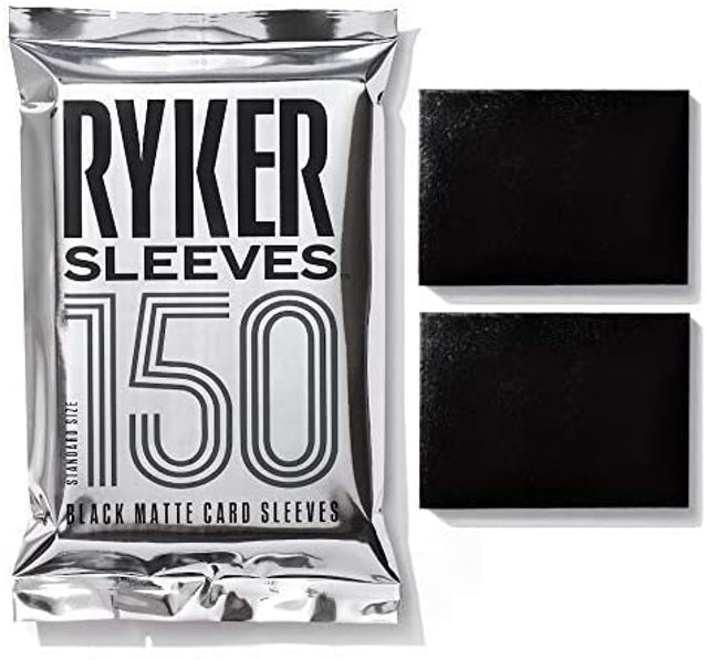 RYKER Standard Size Matte Card Sleeves 1