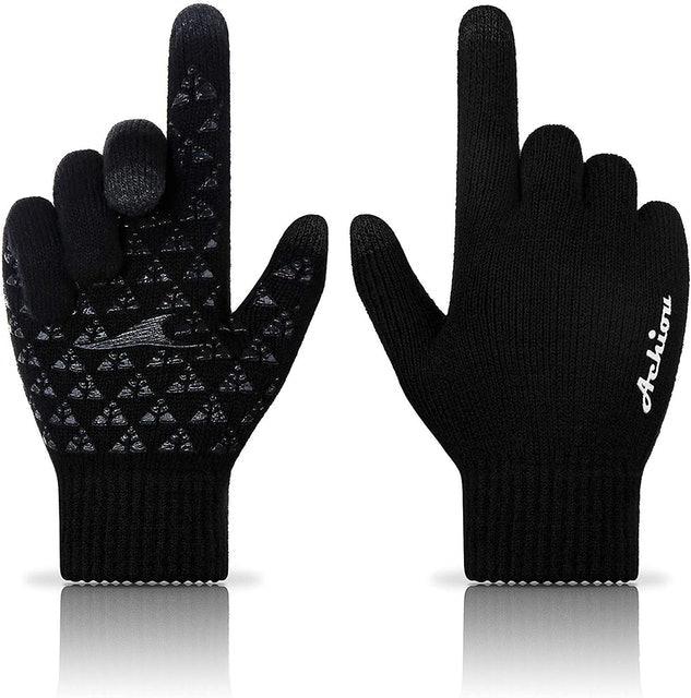 Achiou Winter Knit Gloves 1