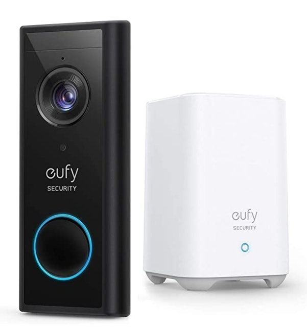 eufy Battery-Powered Wireless Video Doorbell With 2K HD 1