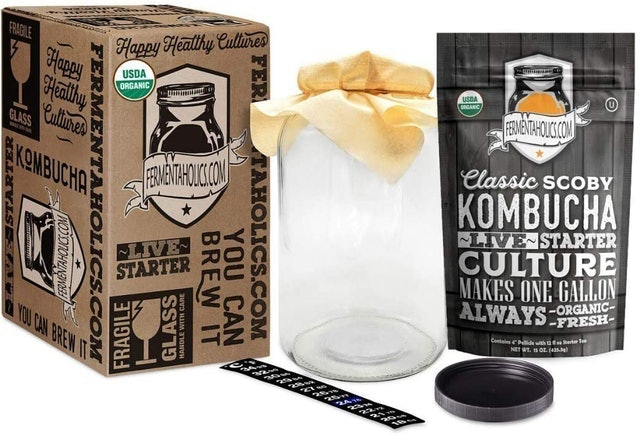 Fermentaholics  Kombucha Essentials Kit  1