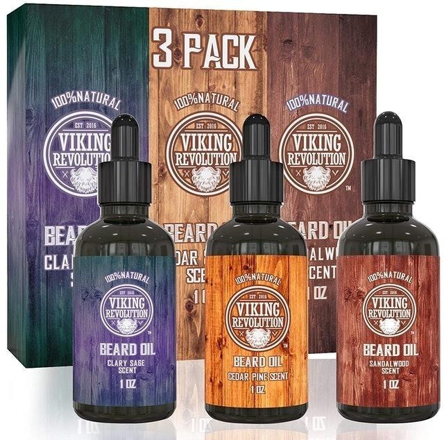 Viking Revolution Beard Oil 1