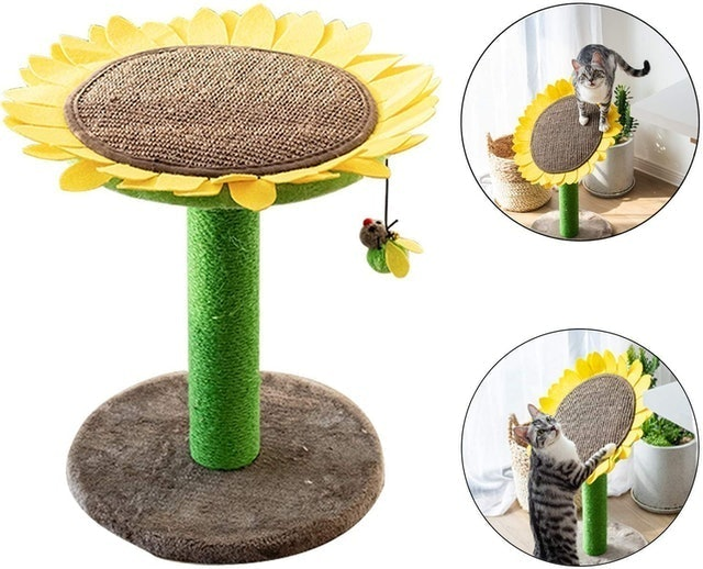 Catry Cat Tree Bed 1