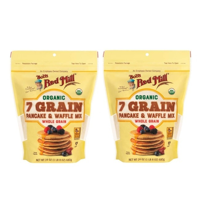 Bob's Red Mill Organic 7 Grain Pancake & Waffle Whole Grain Mix 1