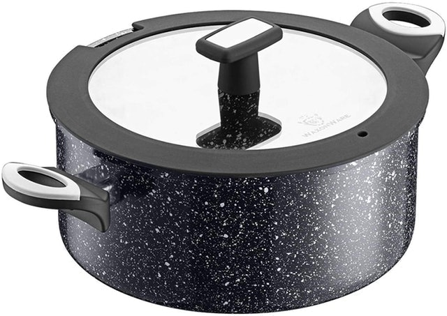 WaxonWare Nonstick Pot With Lid  1