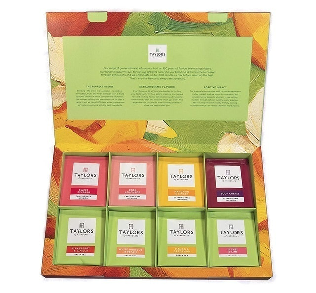 Taylors of Harrogate Assorted Green Teas and Fruit Infusions 1