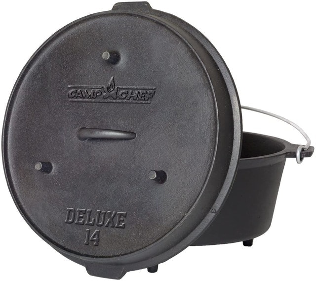 Camp Chef Seasoned Cast Iron Dutch Oven  1