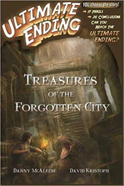 Danny McAleese and David Kristoph Treasures of the Forgotten City 1