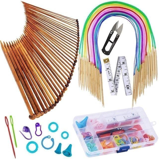 EXQUISS Knitting Needles Set 1