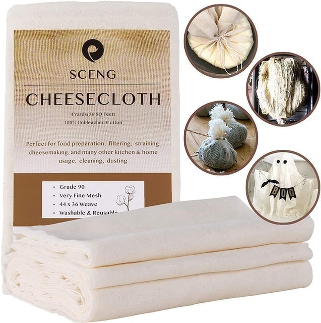 Sceng Ultra Fine Cheesecloth for Cooking  1