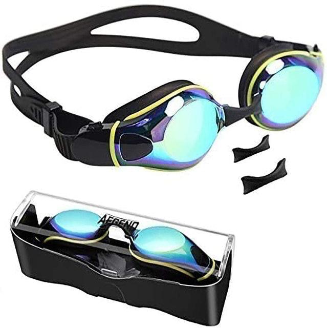 aegend Flat Lens Swimming Goggles 1