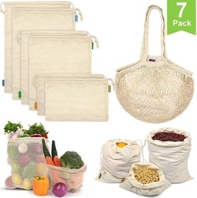 Top 10 Best Reusable Produce Bags in 2021 (Earthwise, Small Fish, and More) 2