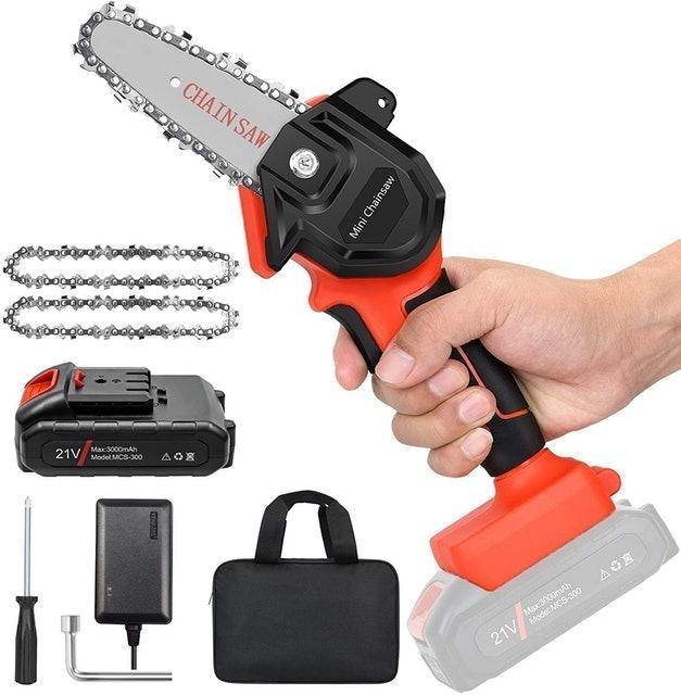 New Huing Mini Cordless Chainsaw Kit 1