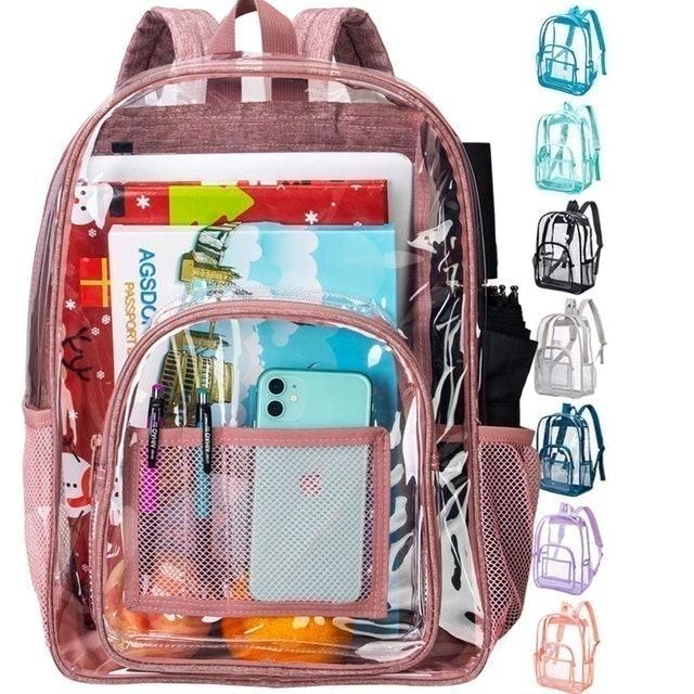 Agsdon Clear Backpack 1