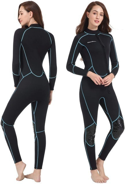 Seaskin Full Body Front Zip Wetsuit 1