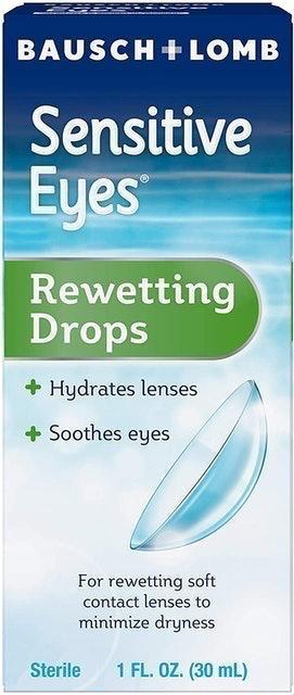 Bausch + Lomb Sensitive Eyes Rewetting Drops 1
