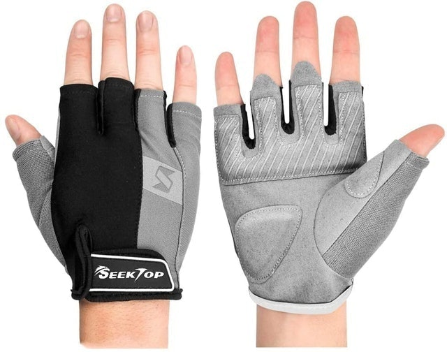 Seektop Women's Exercise Gloves for Powerlifting 1