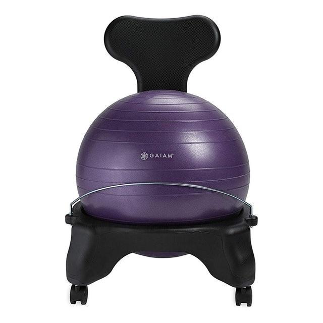 Gaiam Classic Balance Ball Chair 1
