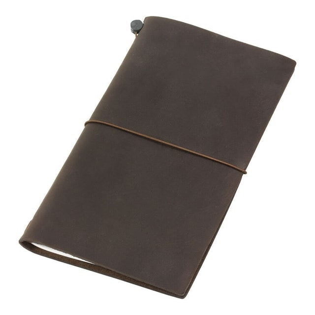 Traveler's Company Traveler's Notebook Brown Leather 1