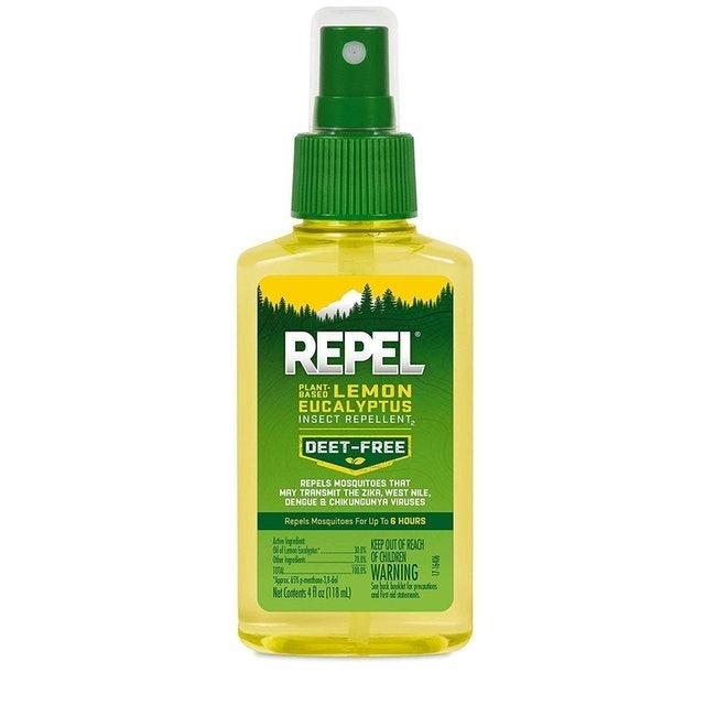 Repel Plant-Based Lemon Eucalyptus Insect Repellent 1