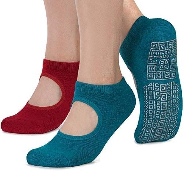 Unenow Non-Slip Grip Women's Socks 1