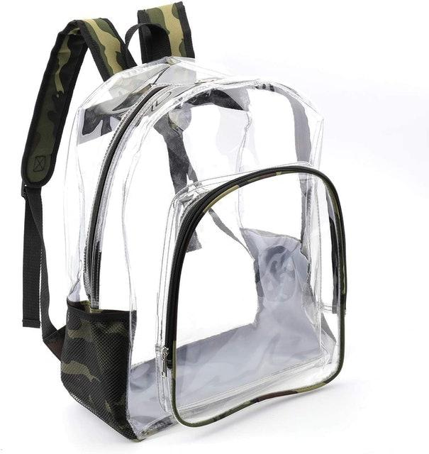 Jomparo Heavy Duty Clear Backpack 1