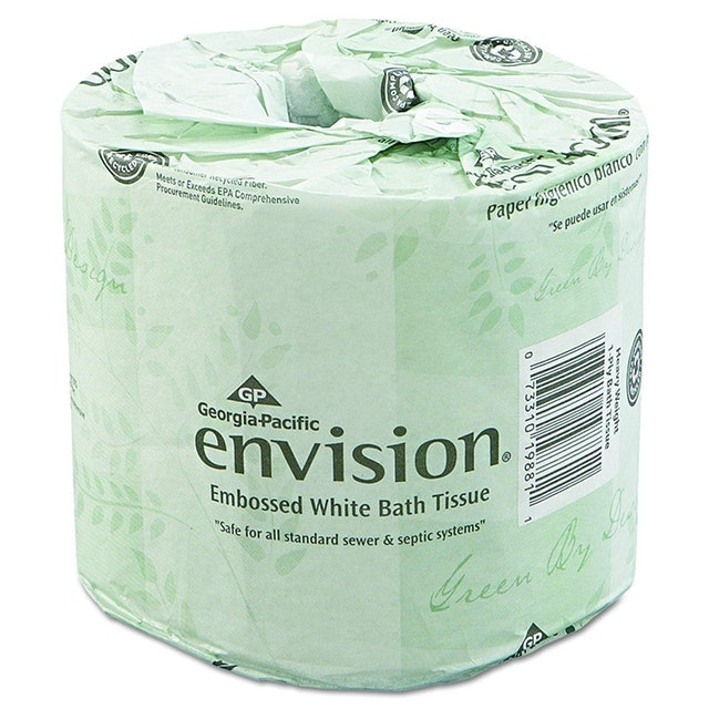 Georgia-Pacific Envision 2-Ply Embossed Toilet Paper 1