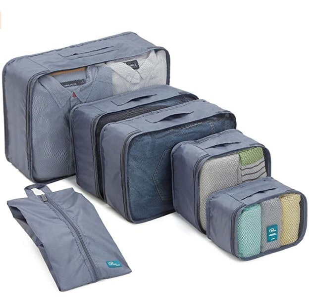 P.travel Packing Cubes With Shoe Bag 1