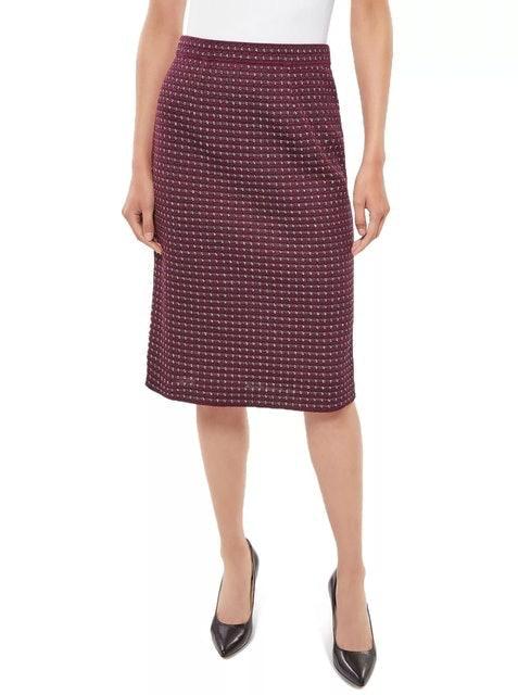 Misook Tweed Pencil Skirt 1