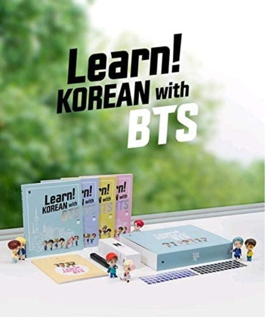 Big Hit Entertainment Learn! Korean with BTS Book Package 1