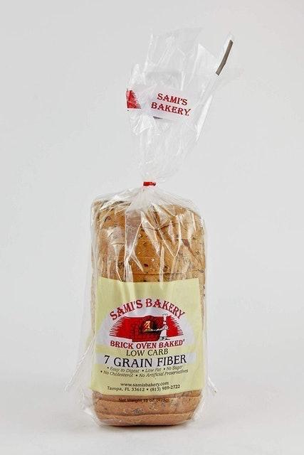 Sami's Bakery Low Carb 7 Grain Fiber Bread 1