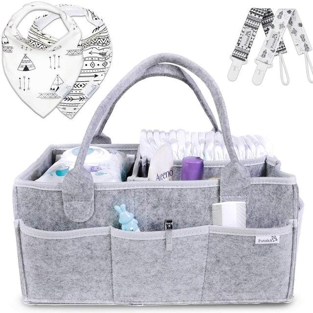 Putska Portable Baby Diaper Caddy 1