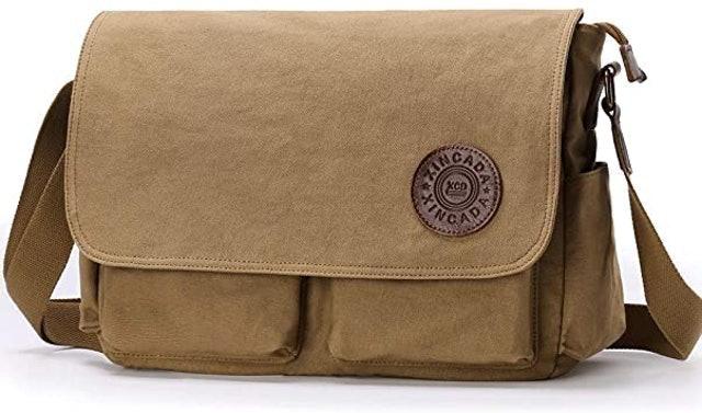 XINCADA Canvas Messenger Bag 1