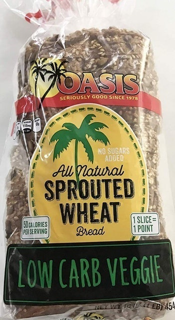 Oasis  Low-Carb, All-Natural, Sprouted Veggie Bread 1